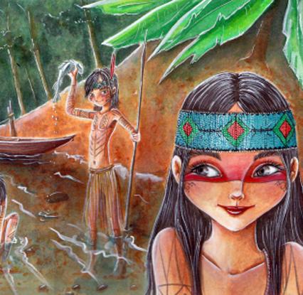 Cuento Puyanáwa. Guardians de la Amazonia