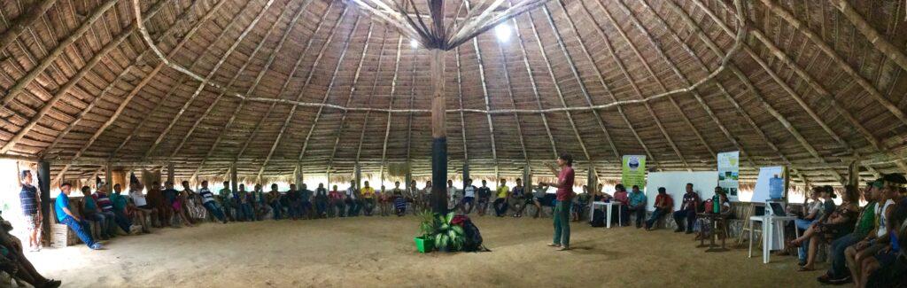 Los pueblos indígenas y el cambio climático. Guardians de La Amazonia